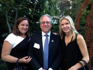 L-R: Susan Asper, Donald MacDonald, Adina Erem Isenberg